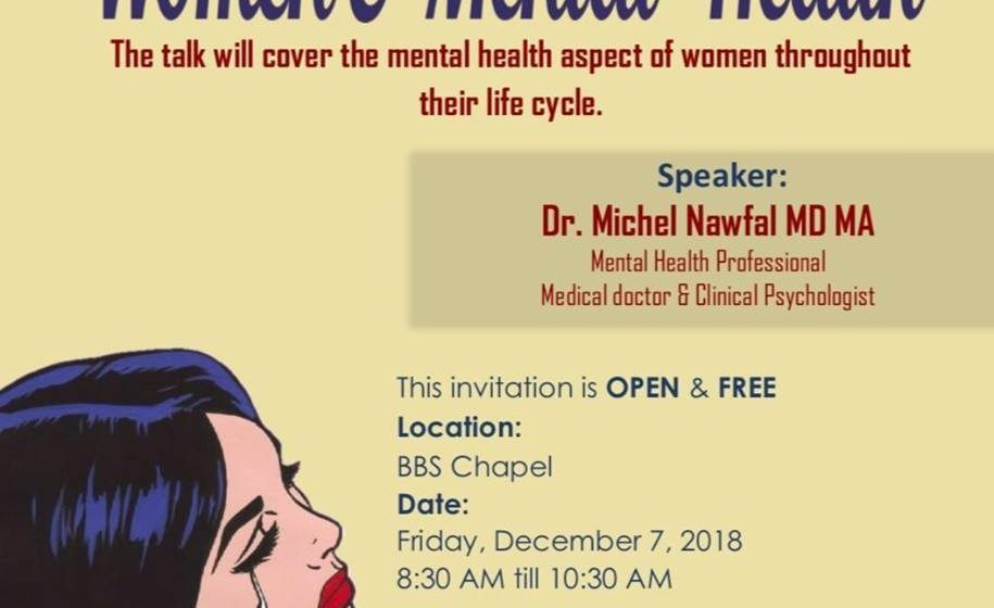 BBS Women and Mental Health Session